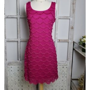 Guess Sleeveless Pink Dress, Women's Size 10